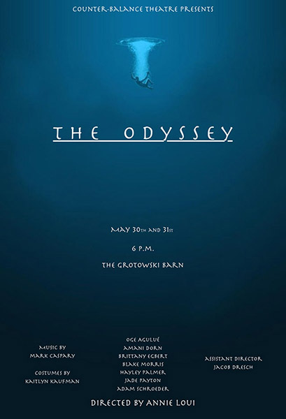 The Odyssey Show Poster